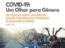 Capa da publicação Covid-19: Um Olhar para Gênero