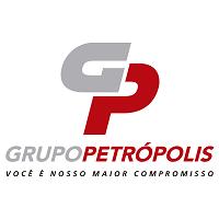 """Logo do Grupo Petrópolis e o texto """"Você é nosso maior compromisso"""""""