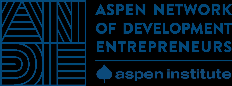 Logo da Aspen Network of Development Entrepreneurs